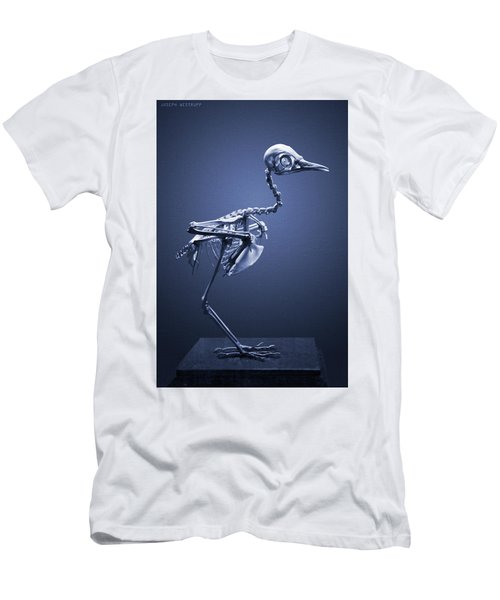 Featherless In Blue Men's T-Shirt (Athletic Fit)