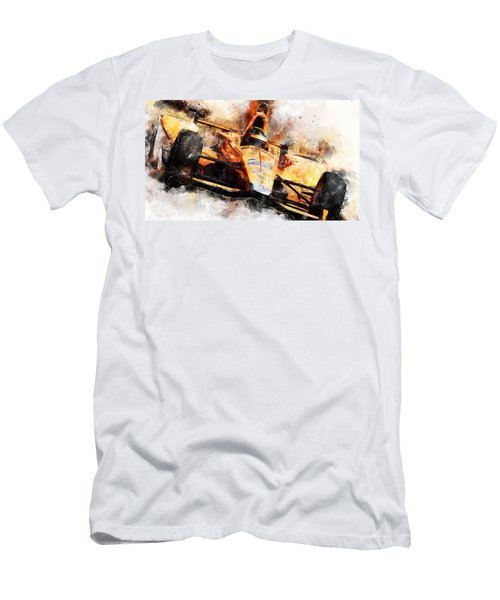 Fernando Alonso, Indy 500 - 04 Men's T-Shirt (Athletic Fit)