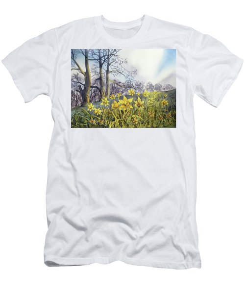 Field Of Hope At Burton Agnes Men's T-Shirt (Athletic Fit)