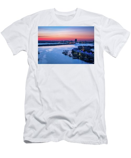 Firstlight Over Clearwater Men's T-Shirt (Athletic Fit)