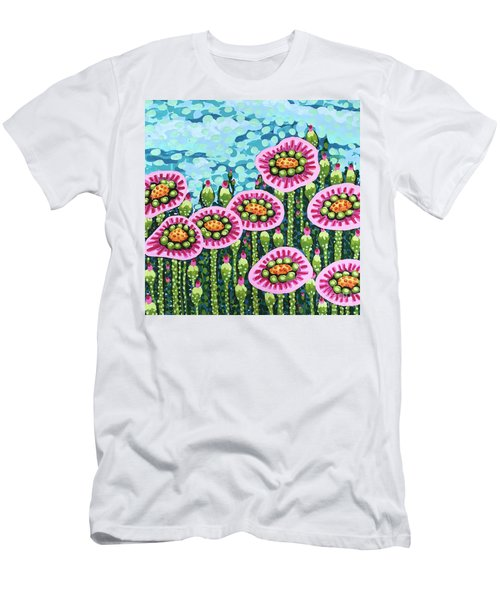 Floral Whimsy 8 Men's T-Shirt (Athletic Fit)