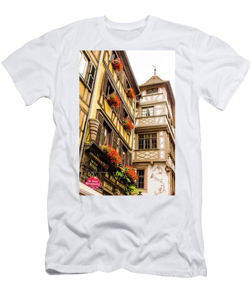 Flower Boxes Strasbourg Men's T-Shirt (Athletic Fit)
