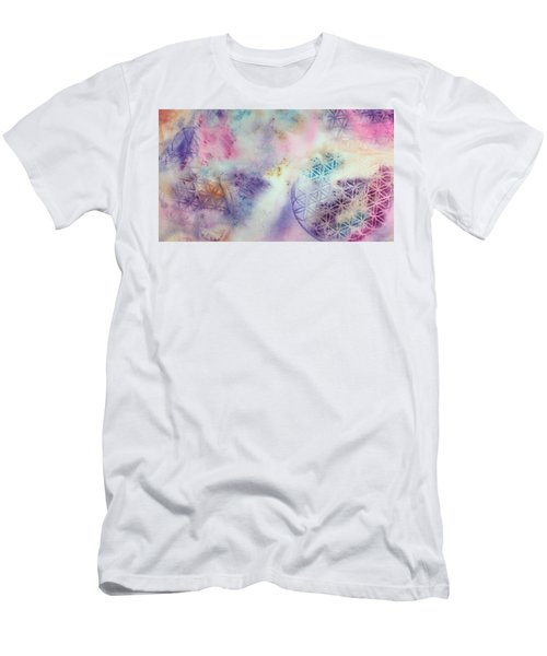 Flower Of Life Men's T-Shirt (Athletic Fit)