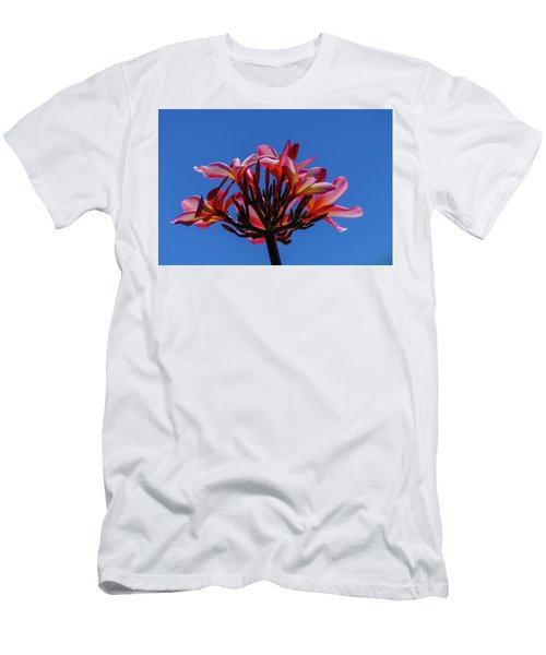 Flowers In Clear Blue Sky Men's T-Shirt (Athletic Fit)