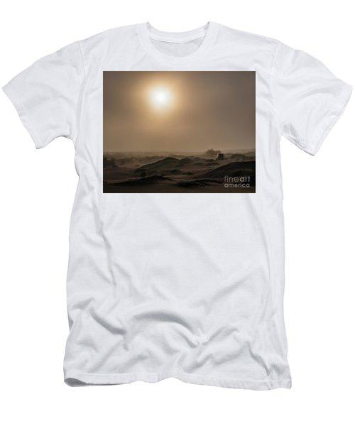 Foggy Morning In The Namib Desert Men's T-Shirt (Athletic Fit)