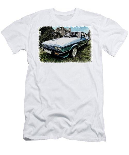 Ford Capri 3.8i Pencil V2 Men's T-Shirt (Athletic Fit)