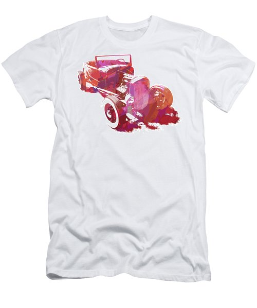 Ford Flathead Roadster Two Pop Men's T-Shirt (Athletic Fit)