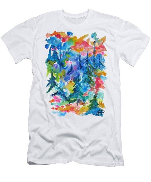 Forest Sunrise Men's T-Shirt (Athletic Fit)