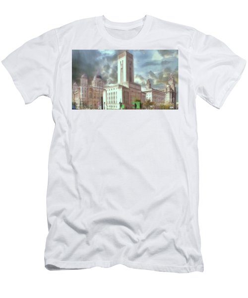 Men's T-Shirt (Athletic Fit) featuring the photograph Full Of Grace by Leigh Kemp