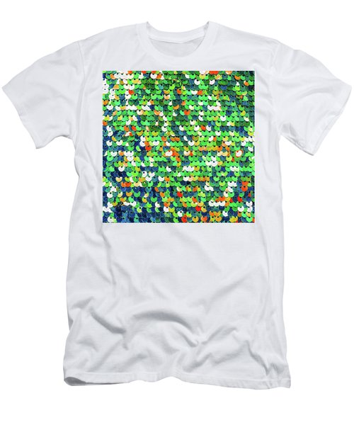 Funky Sequins Men's T-Shirt (Athletic Fit)