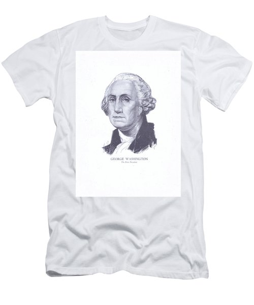George Washington, The First President Men's T-Shirt (Athletic Fit)