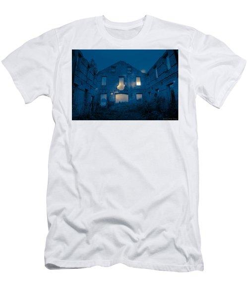 Ghost Castle Men's T-Shirt (Athletic Fit)