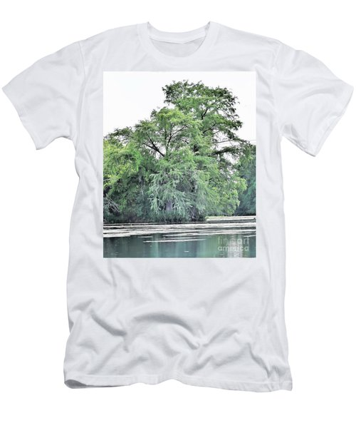 Giant River Tree Men's T-Shirt (Athletic Fit)
