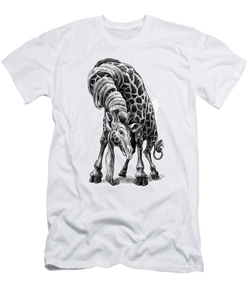 Giraffe Men's T-Shirt (Athletic Fit)