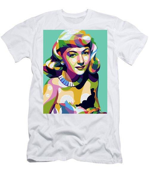 Gloria Graham Men's T-Shirt (Athletic Fit)