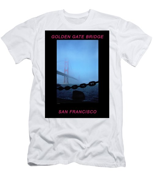 Golden Gate Fog - 2 Men's T-Shirt (Athletic Fit)