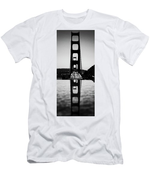 Golden Gate Reflection Men's T-Shirt (Athletic Fit)
