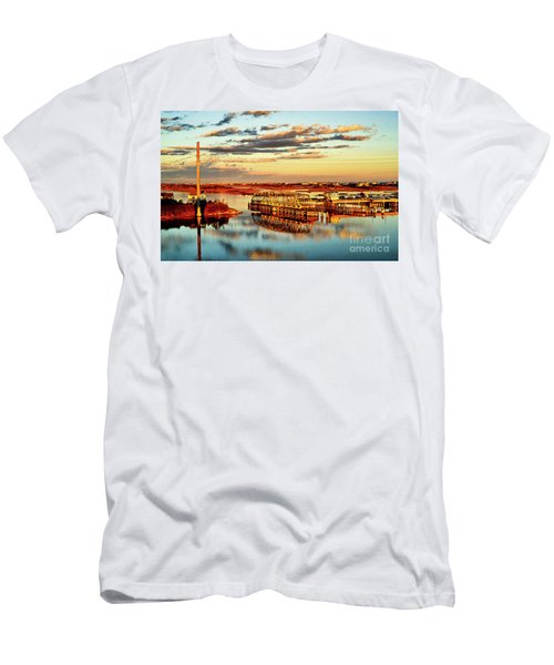 Golden Hour Bridge Men's T-Shirt (Athletic Fit)