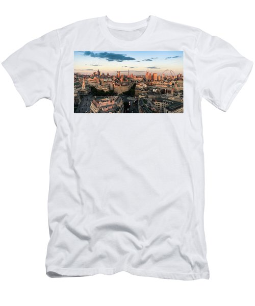 Men's T-Shirt (Athletic Fit) featuring the photograph Golden Hour London by Stewart Marsden