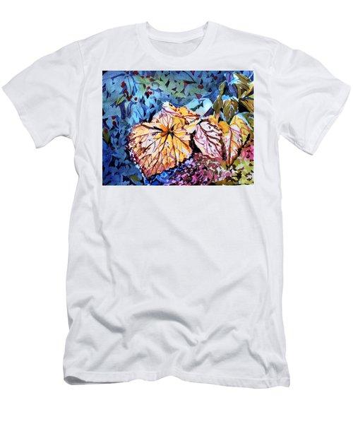 Golden Leaves Men's T-Shirt (Athletic Fit)