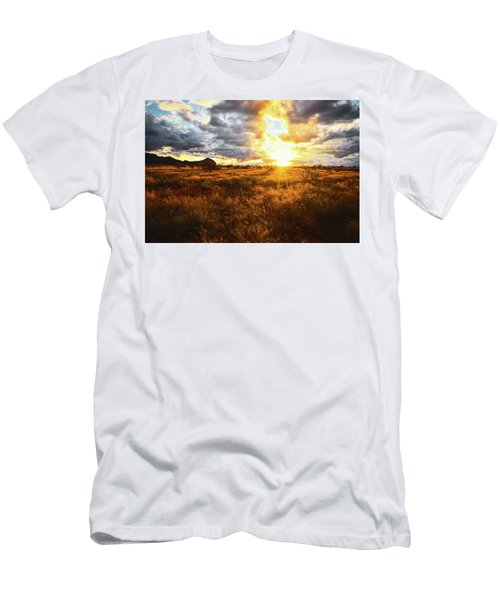 Golden Light Of Southern Arizona Men's T-Shirt (Athletic Fit)