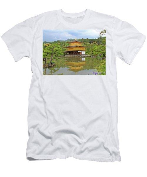 Golden Pavilion - Kyoto, Japan Men's T-Shirt (Athletic Fit)