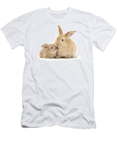 Men's T-Shirt (Athletic Fit) featuring the photograph Grass Is For Sharing by Warren Photographic