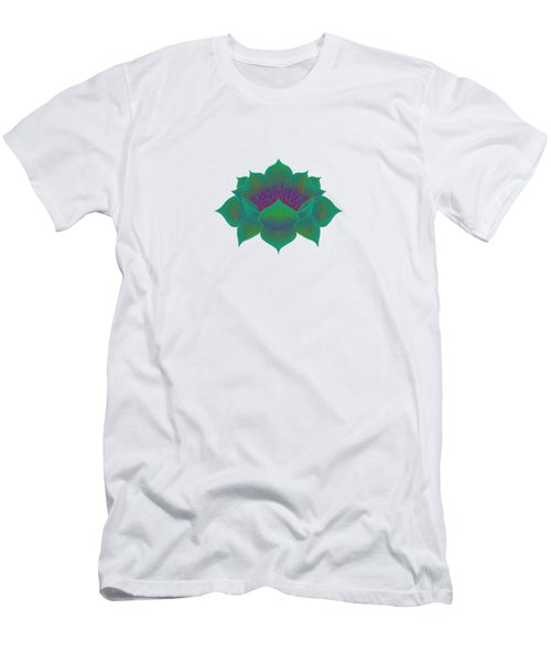 Green Lotus Men's T-Shirt (Athletic Fit)