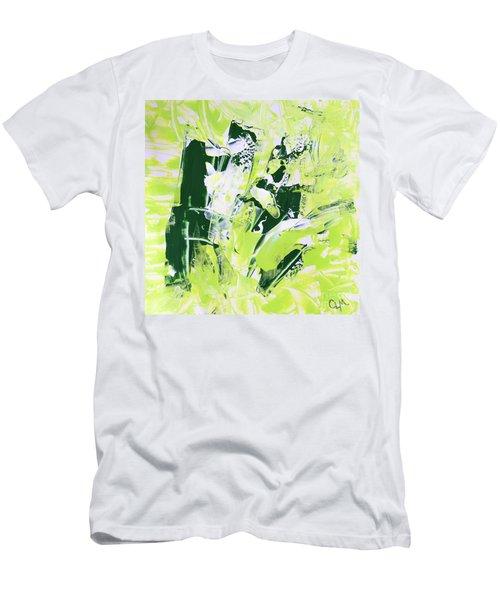 Green Splash Men's T-Shirt (Athletic Fit)