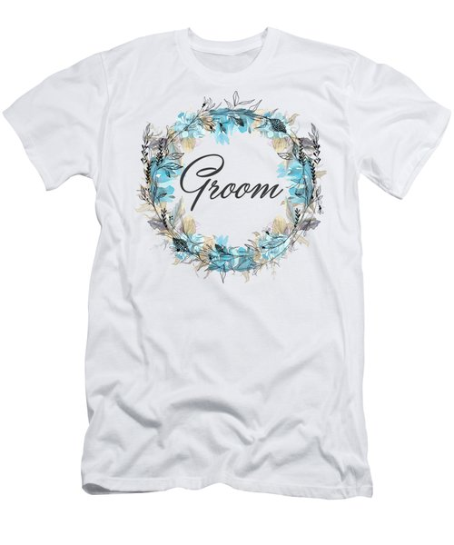 Groom Men's T-Shirt (Athletic Fit)