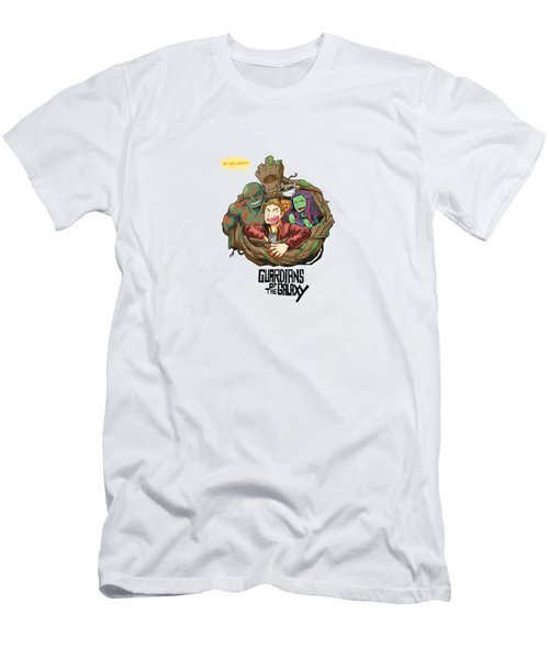 Groot Guardians Of The Galaxy Men's T-Shirt (Athletic Fit)