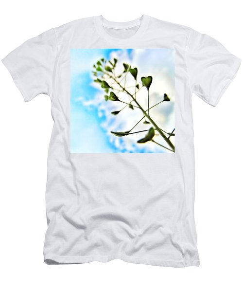 Men's T-Shirt (Athletic Fit) featuring the photograph Growing Love by Marianna Mills