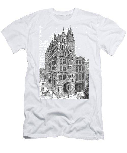 Hale Building Men's T-Shirt (Athletic Fit)