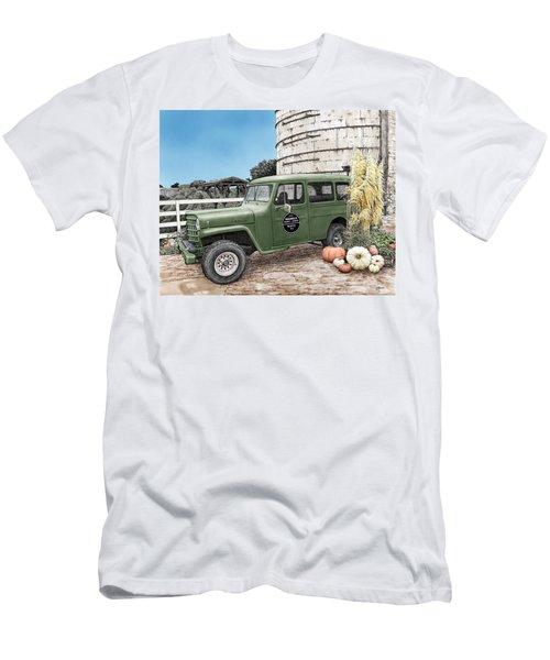 Harvest At Magnolia Men's T-Shirt (Athletic Fit)