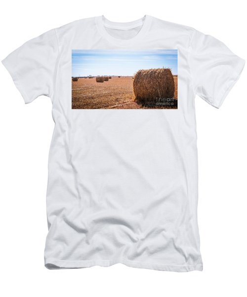 Hay Rolls Men's T-Shirt (Athletic Fit)