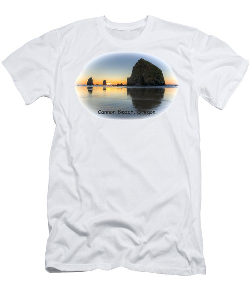 Haystack Reflections 0704-2 Men's T-Shirt (Athletic Fit)