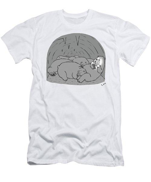 Hibernation Men's T-Shirt (Athletic Fit)
