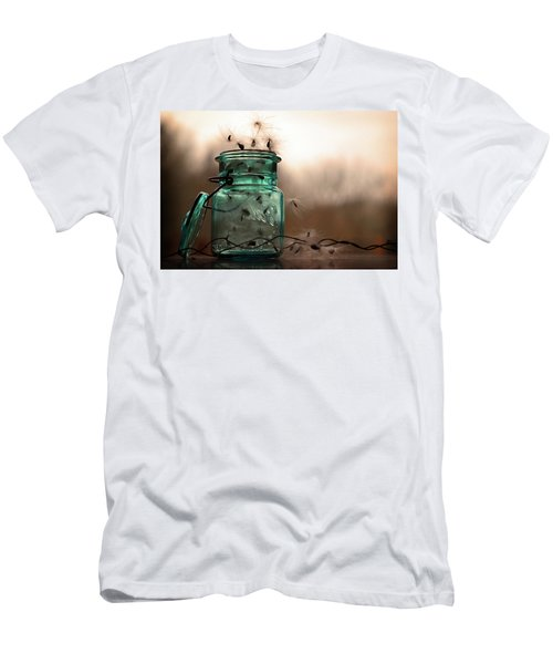 Men's T-Shirt (Athletic Fit) featuring the photograph His Cup Runneth Over by Michelle Wermuth