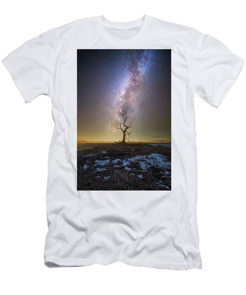 Men's T-Shirt (Athletic Fit) featuring the photograph Hopeless He Stays  by Aaron J Groen