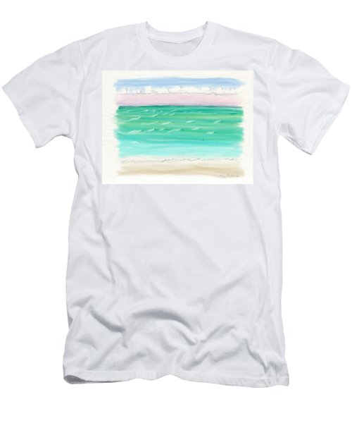 Horizontal Bliss Men's T-Shirt (Athletic Fit)