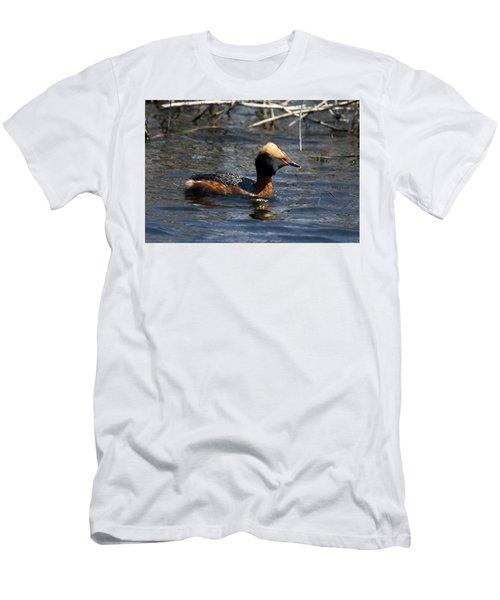 Horned Grebe 102713 Men's T-Shirt (Athletic Fit)