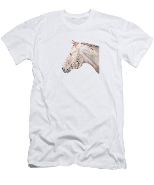 Horse Portrait I Men's T-Shirt (Athletic Fit)