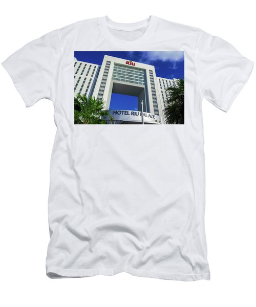 Hotel Riu Palace In Cancun Men's T-Shirt (Athletic Fit)