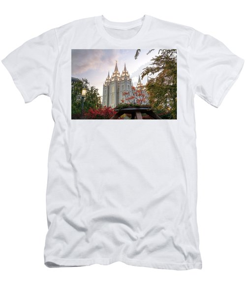 Men's T-Shirt (Athletic Fit) featuring the photograph House Of The Lord by Dustin  LeFevre