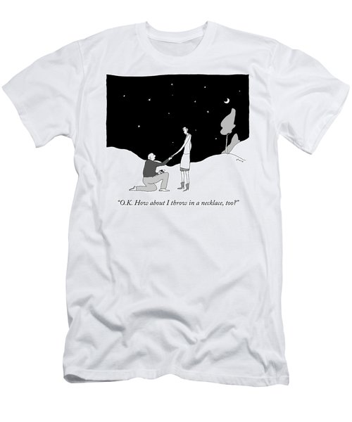 How About I Throw In A Necklace Men's T-Shirt (Athletic Fit)