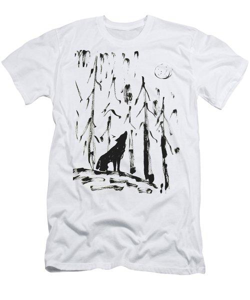 Howl #2 Men's T-Shirt (Athletic Fit)