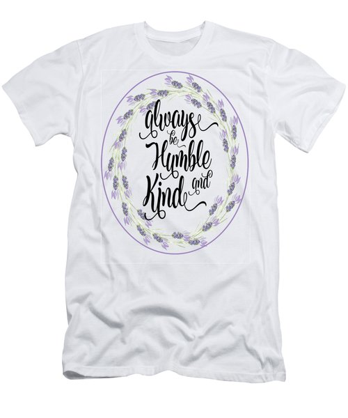 Humble And Kind Men's T-Shirt (Athletic Fit)
