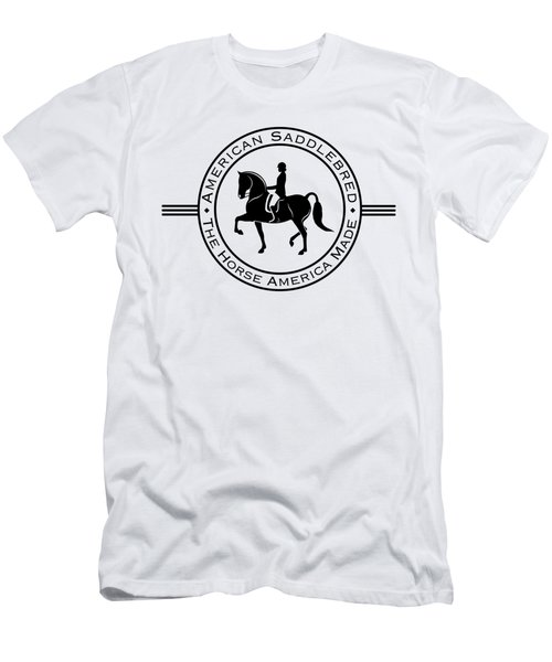 aecafd91 Hunter Saddlebred Men's T-Shirt (Athletic Fit)