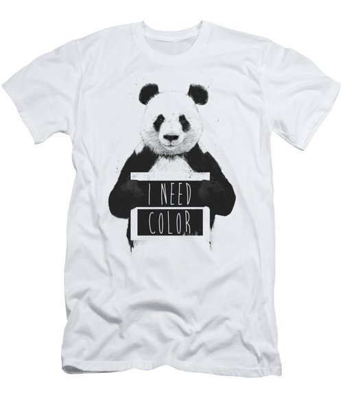 I Need Color Men's T-Shirt (Athletic Fit)