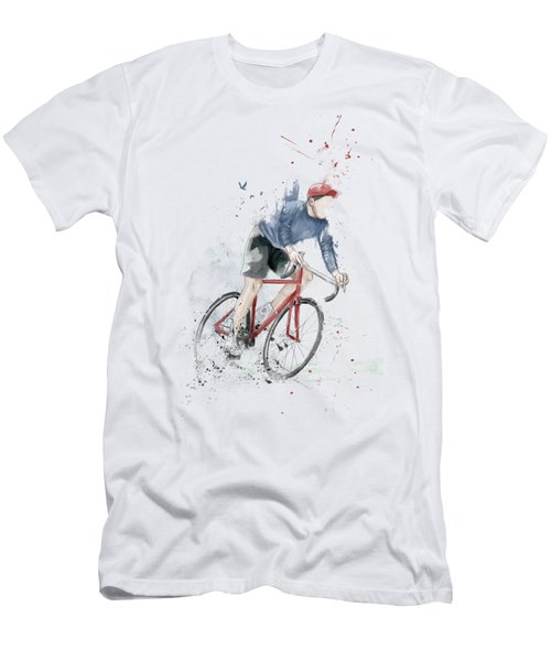 I Want To Ride My Bicycle Men's T-Shirt (Athletic Fit)